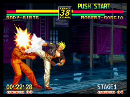 Art Of Fighting 3: Path Of The Warrior (MVS)  © SNK 1996   5/6