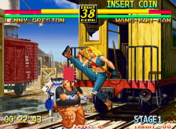 Art Of Fighting 3: Path Of The Warrior (MVS)  © SNK 1996   2/6