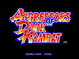 Aggressors Of Dark Kombat (MVS)  © SNK 1994   1/8