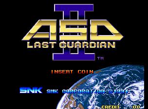 Alpha Mission II (MVS)  © SNK 1991   7/9