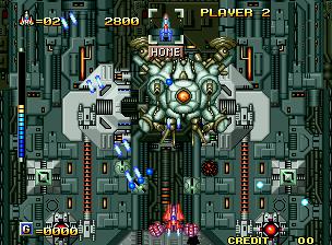 Alpha Mission II (MVS)  © SNK 1991   8/9