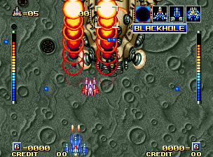Alpha Mission II (MVS)  © SNK 1991   9/9