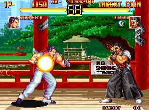 Art Of Fighting (MVS)  © SNK 1992   6/11