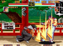 Art Of Fighting (MVS)  © SNK 1992   2/11