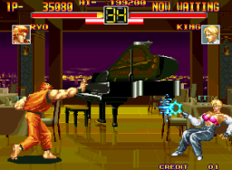 Art Of Fighting (MVS)  © SNK 1992   3/11