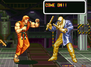 Art Of Fighting (MVS)  © SNK 1992   11/11