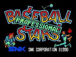Baseball Stars Professional (MVS)  © SNK 1990   1/3