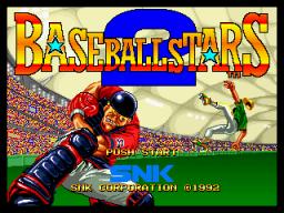Baseball Stars 2 (MVS)  © SNK 1992   1/3