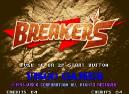 Breakers (MVS)  © SNK 1996   1/3