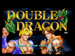 Double Dragon (1995) (MVS)   © SNK 1995    1/3