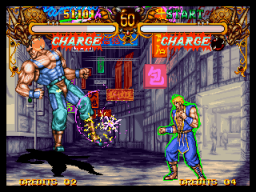 Double Dragon (1995) (MVS)   © SNK 1995    3/3