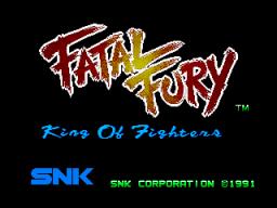 Fatal Fury (MVS)  © SNK 1991   1/6