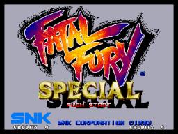 Fatal Fury Special (MVS)  © SNK 1993   1/3