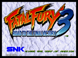 Fatal Fury 3: Road To The Final Victory (MVS)  © SNK 1995   1/6