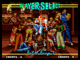 Fatal Fury 3: Road To The Final Victory (MVS)  © SNK 1995   2/6