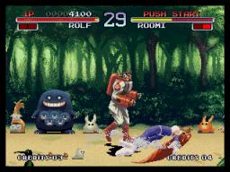 Galaxy Fight (MVS)  © SNK 1995   3/3
