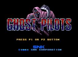 Ghost Pilots (MVS)  © SNK 1991   1/4