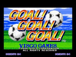 Goal! Goal! Goal! (MVS)  © SNK 1995   1/3