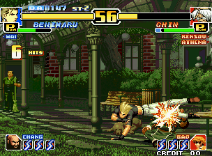 The King Of Fighters '99 (MVS)  © SNK 1999   5/6