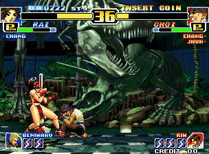 The King Of Fighters '99 (MVS)  © SNK 1999   6/6