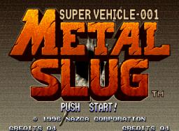 Metal Slug (MVS)  © SNK 1996   1/5