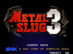 Metal Slug 3 (MVS)  © SNK 2000   1/12