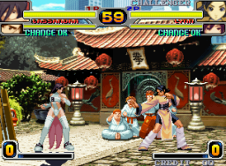 Rage Of The Dragons (MVS)  © SNK 2002   3/5