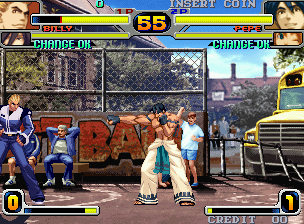 Rage Of The Dragons (MVS)  © SNK 2002   5/5
