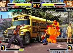 Rage Of The Dragons (MVS)  © SNK 2002   2/5