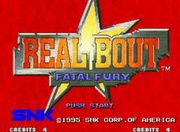 Real Bout Fatal Fury (MVS)   © SNK 1995    1/6