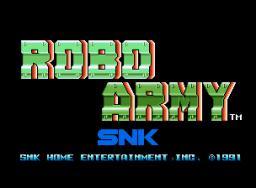 Robo Army (MVS)  © SNK 1991   1/3