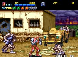Robo Army (MVS)  © SNK 1991   3/3