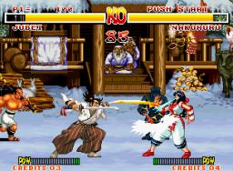 Samurai Shodown (MVS)  © SNK 1993   3/3