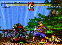 Samurai Shodown III: Blades Of Blood (MVS)  © SNK 1995   3/5