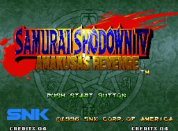 Samurai Shodown IV: Amakusa's Revenge (MVS)  © SNK 1996   1/7