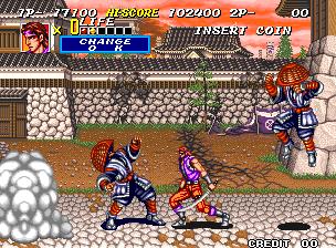 Sengoku 2 (MVS)  © SNK 1993   5/6