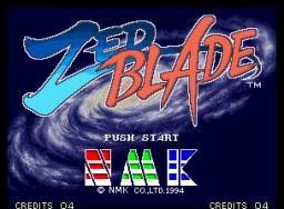 Zed Blade (MVS)  © SNK 1994   1/5