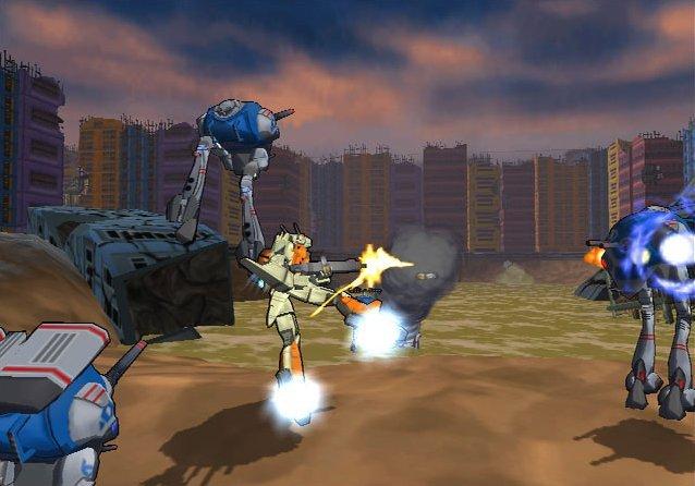 Robotech: Battlecry (PS2)  © TDK 2002   4/5