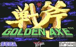 Golden Axe (C64)  © Virgin 1990   1/3