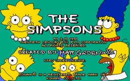 The Simpsons (PC)  © Konami 1991   1/3
