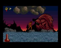 Shadow Of The Beast II (AMI)  © Psygnosis 1990   3/6