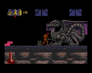 Shadow Of The Beast II (AMI)  © Psygnosis 1990   4/6
