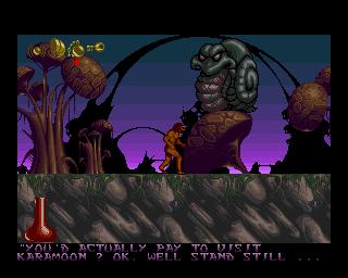 Shadow Of The Beast II (AMI)  © Psygnosis 1990   5/6