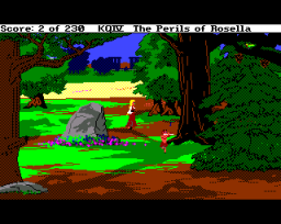 King's Quest IV: The Perils Of Rosella (AMI)  ©  1990   2/3