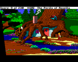 King's Quest IV: The Perils Of Rosella (AMI)  ©  1990   3/3