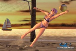 Dead Or Alive Xtreme Beach Volleyball (XBX)  © Tecmo 2003   1/3