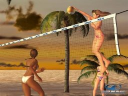 Dead Or Alive Xtreme Beach Volleyball (XBX)  © Tecmo 2003   2/3