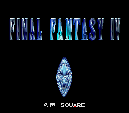 Final Fantasy IV  © Square 1991  (SNES)   1/3