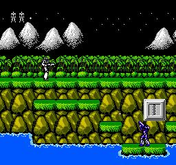 Probotector (NES)  © Konami 1990   2/3