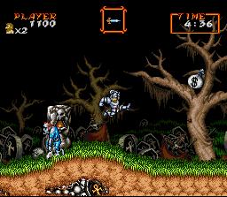 Super Ghouls 'N Ghosts (SNES)  © Capcom 1991   2/3
